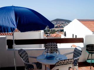 Roomy sun terrace