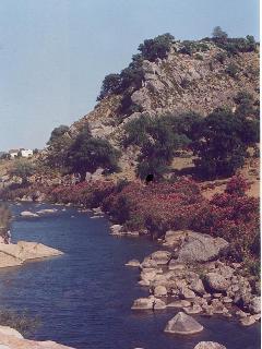 The river below Jimena