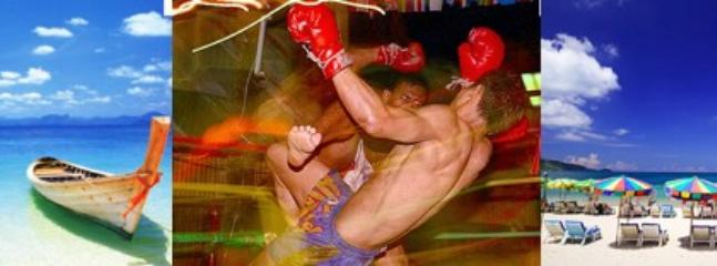 Enjoy the beautiful beaches or a live Muay Thai show