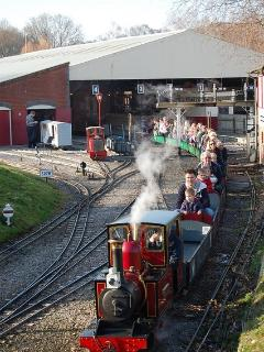 Moors Valley Steam Train