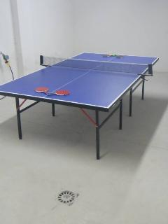 Basement / garage - games room.