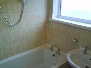 Bathroom, with plenty of hot water