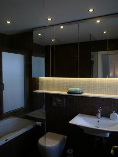 Unwind in one of the stylish bathrooms