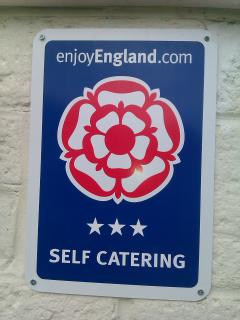 Awarded 3 star enjoy England