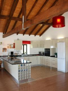 Kitchen area - well equippedwith everything you could possibly need!