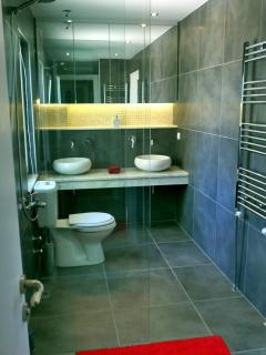 Another of the bathrooms