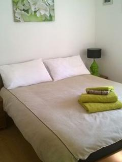 One of the double bedroom's - a tranquil, well furnished space with a large wardrobe