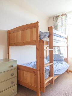 Children's bunk beds.