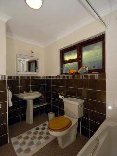 Welsh holiday cottage - family bathroom