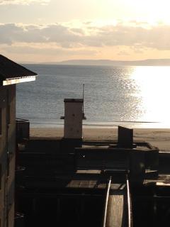 Stunning  sea views towards arran from lounge window.