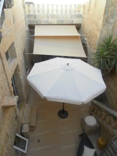 Courtyard from Guest Bedroom Landing