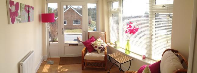 Sunny garden room
