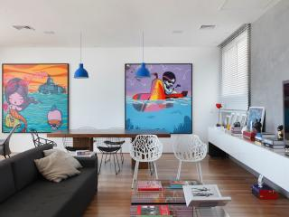Artsy 3 Bedroom Triplex Penthouse with Amazing Ipanema Views, Rio de Janeiro