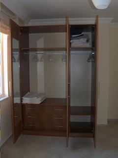 Plenty of storage in every bedroom