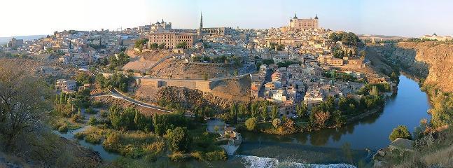 Vista de la ciudad desde la ronda del valle