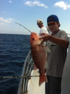 Snapper season with Captain Mike