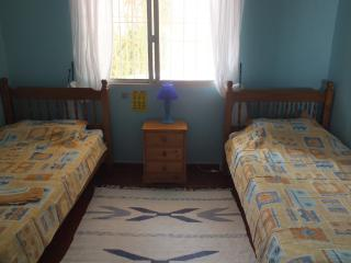 One of the twin bed rooms