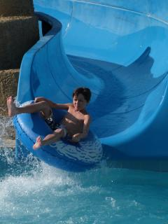 Fun at The Aquapark - just 10 minutes from the villa