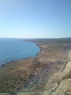 East of Ayia Napa & Dhekelia - diving area/lots of caves