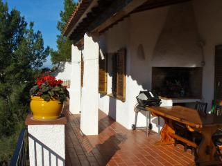 Terrace with barbeque. SA PUNTA COSTA BRAVA