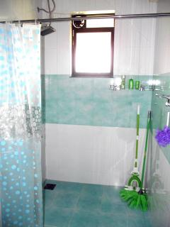 Ensuite Bathroom with Rain Shower and Water Heater