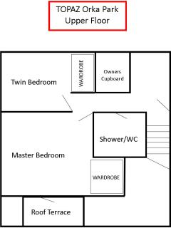 Topaz Floor Plan - Upper Floor