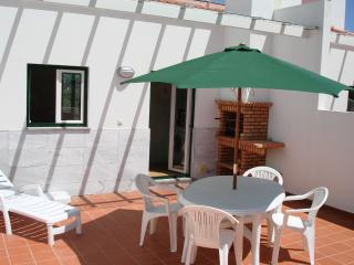 Our south facing terrace, a perfect suntrap