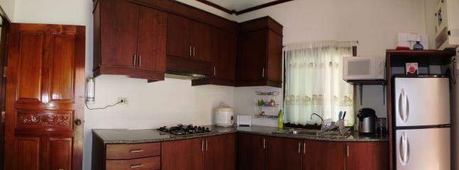 Kitchen fully equipped both to western and Thai standard