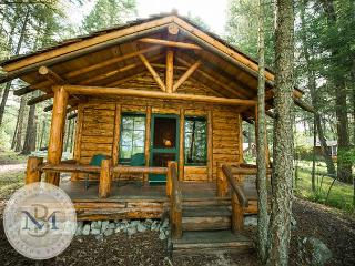 Charming, authentic Montana Cabin just 2 miles from downtown Bigfork!, Somers