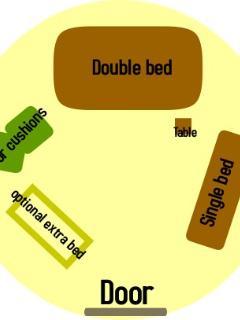 layout of meadow yurt