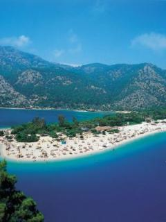 Olu Deniz beach by the Blue Lagoon