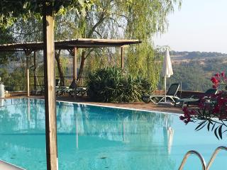 Doppelzimmer auf schönem Landgut mit Park und Pool, Pomarance