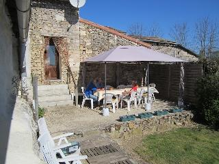Gazebo dining area