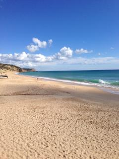 Salema Beach on a stunning February morning