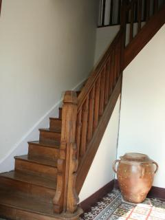 Lovely wooden staircase