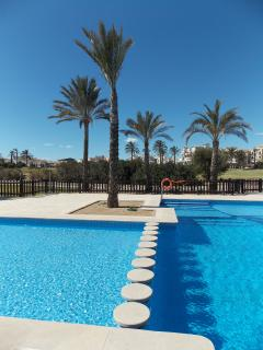 Childrens pool is located just a 2 minute walk from the penthouse