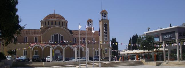 Paralimni Church and Square