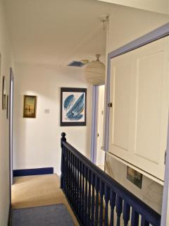 The upstairs Landing