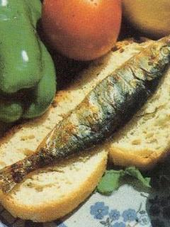 Don't leave without eating grilled sardines!