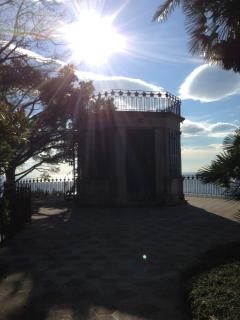 the 'gazebo' on the terrace