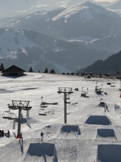 // Try your skills at 10 snowparks, 650km of piste and 201 lifts