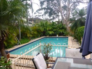 garden studio with pool / spa near manly nsw