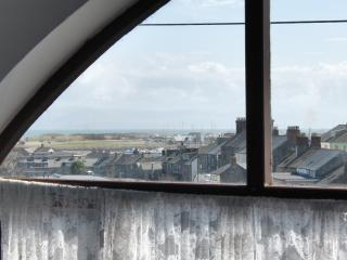 View from the Old School lounge window
