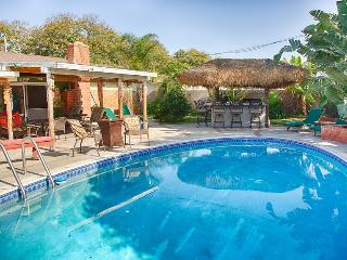 Anaheim Family vacation rental walk to Disneyland with pool, spa and playroom