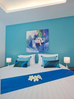 Garden bedroom, bedroom 2.