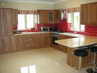 Fully fitted modern kitchen with high spec appliances