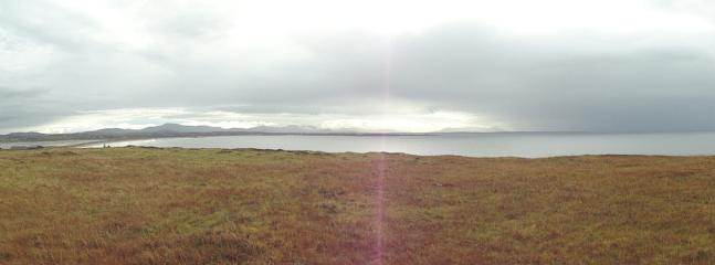 A panoramic view from Claggan Island.