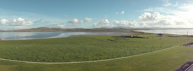 Panoramic view from Belmullet Cgs.