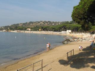 The beach at Les Issambres