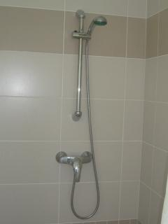 Large shower on-suite from the double bedroom